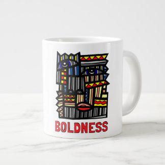 """""""Boldness"""" Jumbo Mug"""