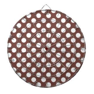 Bole Brown Polka Dots Dartboards