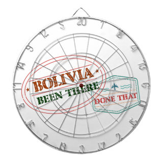 Bolivia Been There Done That Dartboard