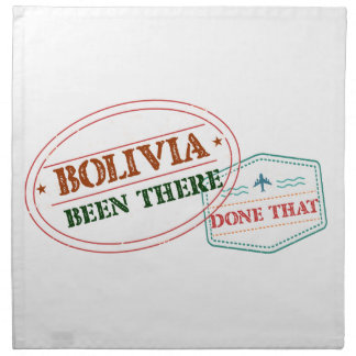 Bolivia Been There Done That Napkin