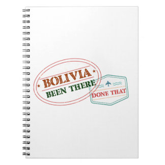 Bolivia Been There Done That Notebooks