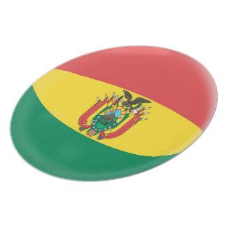 Bolivia Bolivian Flag Plate