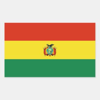Bolivia/Bolivian Flag Rectangular Sticker
