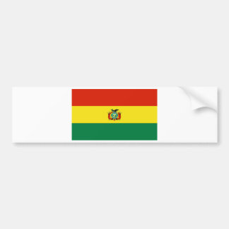 BOLIVIA CAR BUMPER STICKER