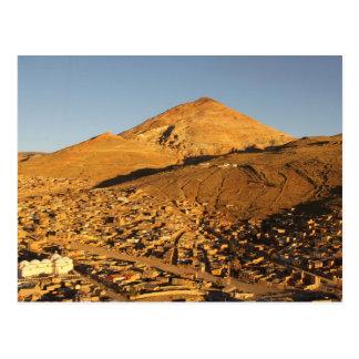 Bolivia Cerro Rico Mountain in Potosi Postcard