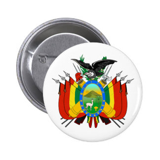 Bolivia Coat of Arms Button