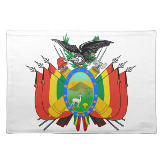 Bolivia Coat of Arms Placemat