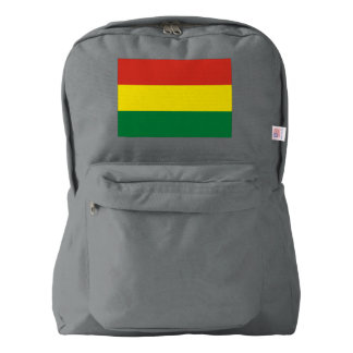 Bolivia Flag Backpack