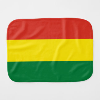 Bolivia Flag Burp Cloth