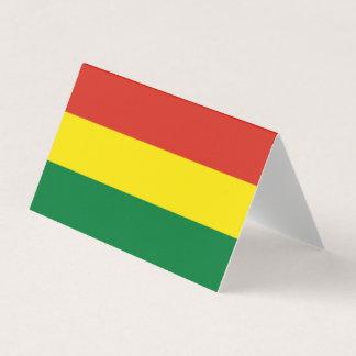 Bolivia Flag Business Card