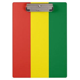 Bolivia Flag Clipboard