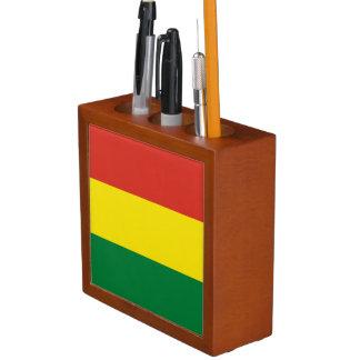 Bolivia Flag Desk Organiser