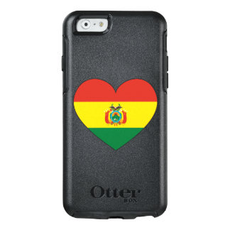 Bolivia Flag Heart OtterBox iPhone 6/6s Case