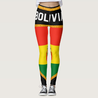 Bolivia Flag Leggings