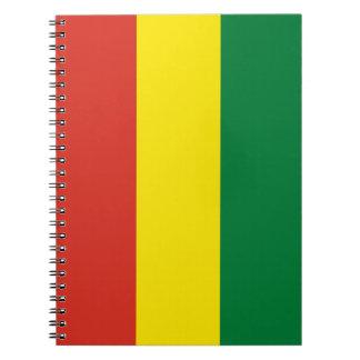 Bolivia Flag Notebook