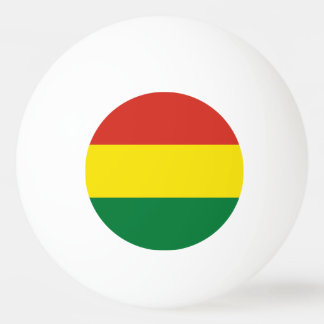 Bolivia Flag Ping Pong Ball
