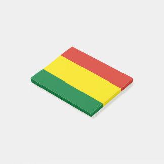 Bolivia Flag Post-it Notes