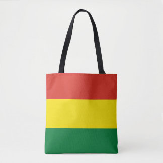 Bolivia Flag Tote Bag