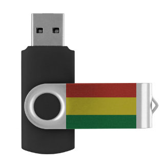 Bolivia Flag USB Flash Drive