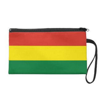 Bolivia Flag Wristlet