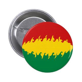 Bolivia Gnarly Flag Pinback Buttons