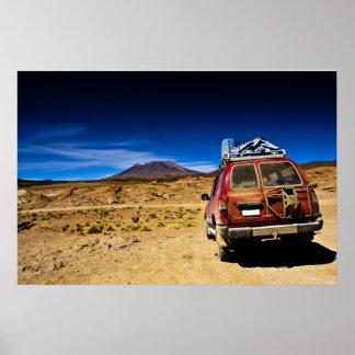 bolivia jeep print