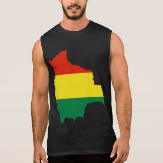 BOLIVIA MAP SLEEVELESS SHIRT