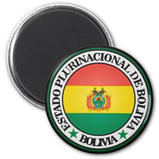 Bolivia Round Emblem Magnet