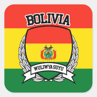 Bolivia Square Sticker
