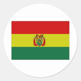 Bolivia State Flag Classic Round Sticker