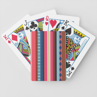Bolivian pattern bicycle playing cards