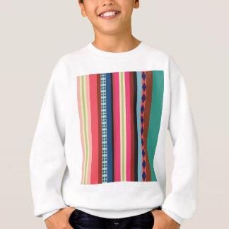 Bolivian pattern sweatshirt