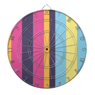 Bolivian stripes dartboard