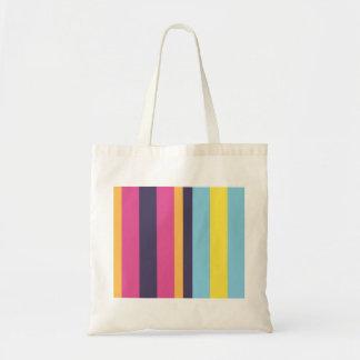 Bolivian stripes tote bag