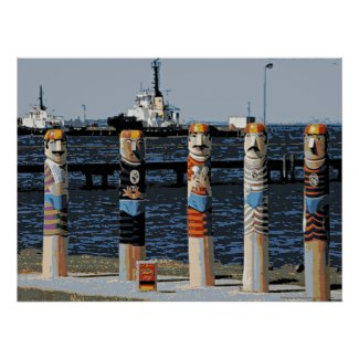 Bollards Geelong Oceanfront
