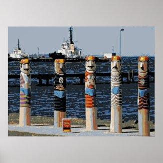 Bollards Geelong Oceanfront