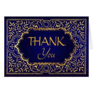 Bollywood Arabian Nights Thank You Note Card