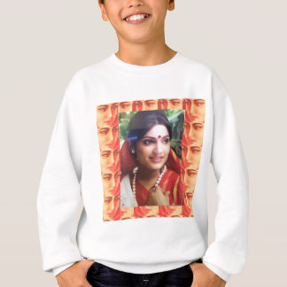 Bollywood diva actress Indian beauty cinema girls Sweatshirt