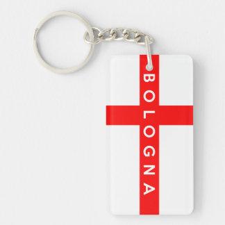 bologna city flag italy symbol acrylic keychains