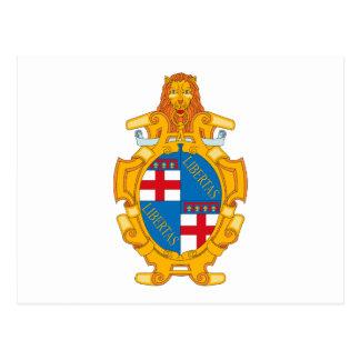 Bologna Coat of Arms Postcard