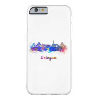 Bologna skyline in watercolor barely there iPhone 6 case