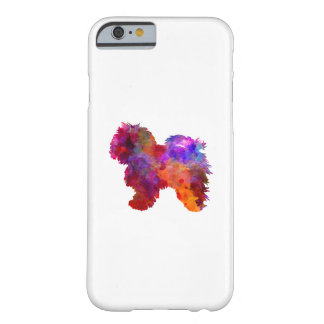 Bolognese in watercolor barely there iPhone 6 case