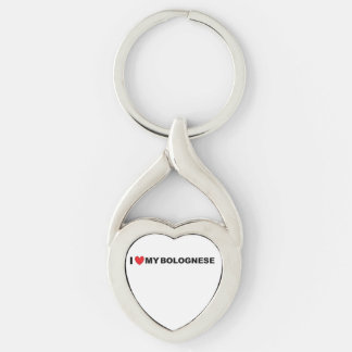 bolognese love key ring