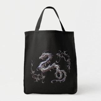 bolsa estampación de logotipo de dragon tote bag