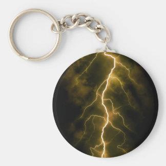 Bolt of Lightening Key Ring