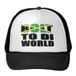 Bolt To Di World Jamaican Flag Cap
