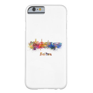 Bolton skyline in watercolor barely there iPhone 6 case