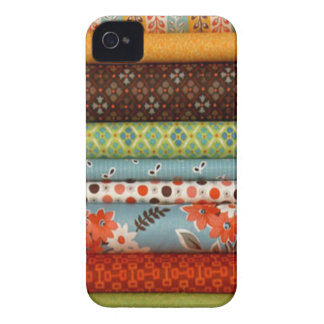Bolts of fabric, pretty cotton designs iPhone 4 cases