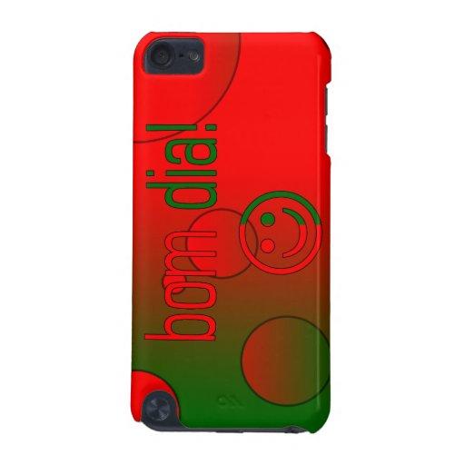 Bom Dia! Portugal Flag Colors Pop Art iPod Touch (5th Generation) Case