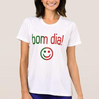 Bom Dia! Portugal Flag Colors Tshirt